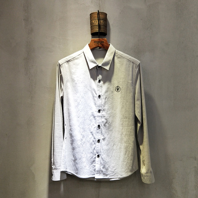 2018年春夏款上新时尚修身男士衬衫1914#