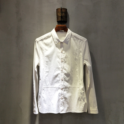 圣达伦 2018年春夏款上新时尚新款男士衬衫1926#