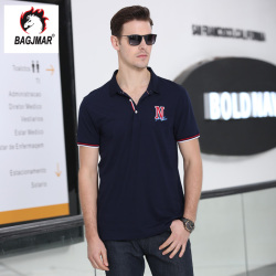 bagjmar  夏季短袖t恤 男士POLO短袖翻领男装体恤衫B2-28010