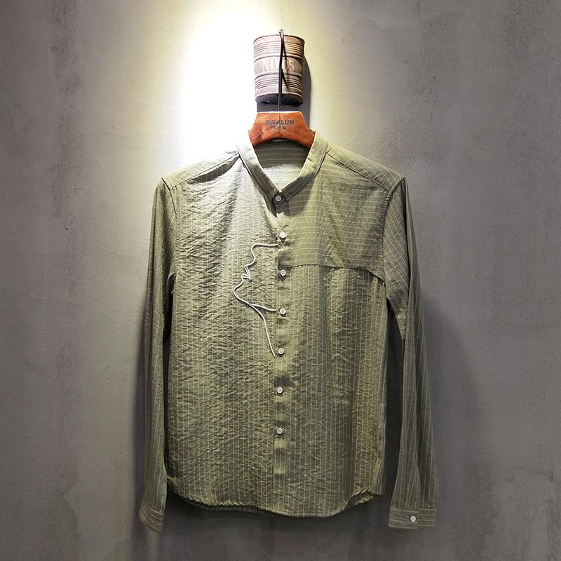 圣达伦 2018年春夏款男士衬衫2007#...