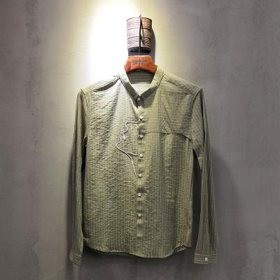 圣达伦 2018年春夏款男士衬衫2007#