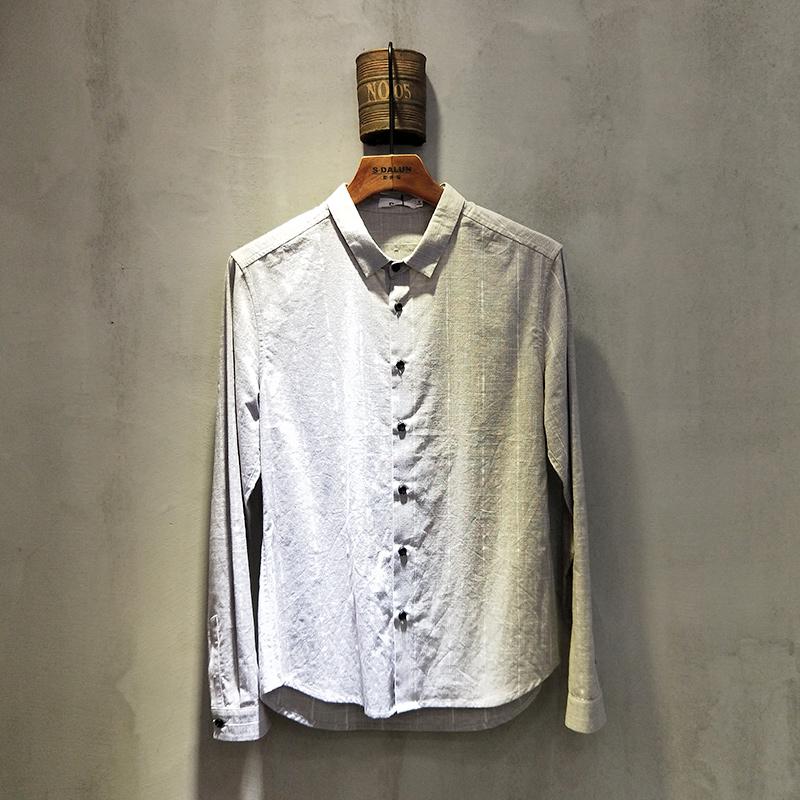 圣达伦 2018年春夏款男士衬衫2010#...