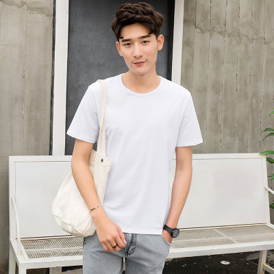 达昇 2018新款时尚简约潮流型男潮男短袖T恤 D111