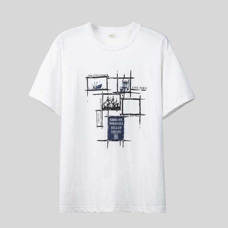旺益 2018夏装男士短袖t恤 001...