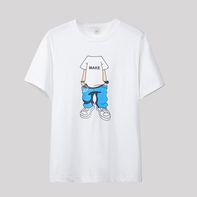 旺益 2018夏装男士短袖t恤 003...
