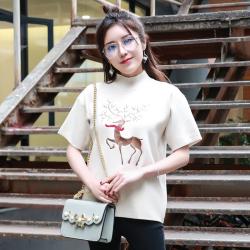 兰蒂斯 2018新款韩版潮流时尚针织毛衣  1108