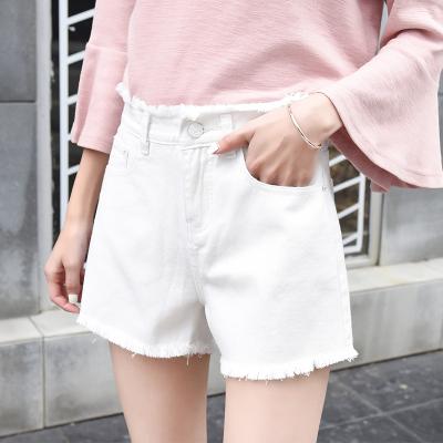 2018年新款 短裤四色修身显高短裤255