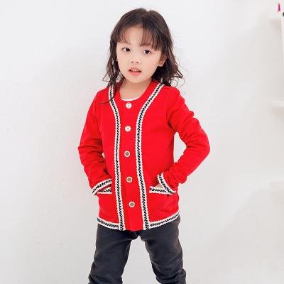 兔力丝 2018新款儿童秋冬毛呢外套 RR005