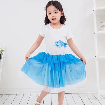 兔力丝 2018新款韩版女童夏装连衣裙 RR014
