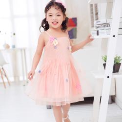兔力丝 2018新款韩版女童甜美连衣裙 RR0016