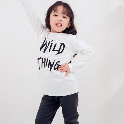 兔力丝 2018新款韩版印花棉T恤 RR022