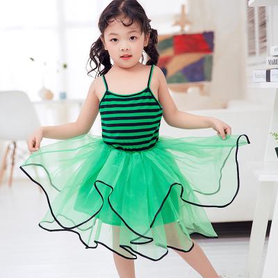 兔力丝 2018新款韩版女童吊带裙 RR031