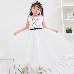 兔力丝 2018新款韩版女童无袖连衣裙 RR033