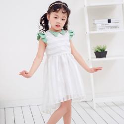 兔力丝 2018新款韩版女童无袖连衣裙 RR034