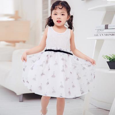 兔力丝 2018新款韩版女童连衣裙 RR039