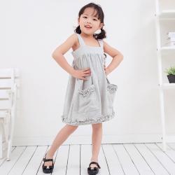兔力丝 2018新款韩版女童时尚连衣裙 RR041