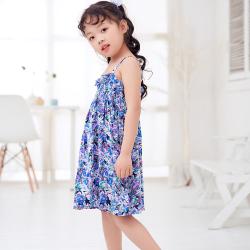 兔力丝 2018新款女童甜美连衣裙 RR042