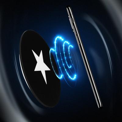 海荣 盾牌 手感油 无线充电器