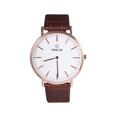 【秒杀款】风格/FENG GE新款手表时尚潮流简约正品防水石英表