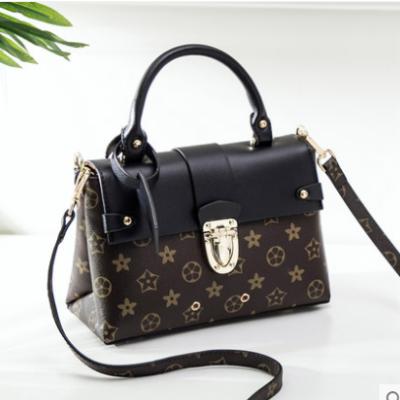 法兰米尔 新款欧美时尚印花单肩斜挎包百搭印花女士手提包7993