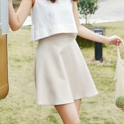 女人志 2018年春夏小清新新款短裙半身裙大摆裙207#