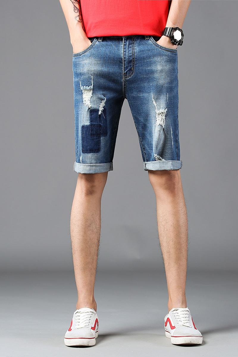 2018新款时尚潮流男士牛仔裤 1817#...