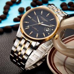 罗蒂诗蔓品牌手表正品时尚高档石英防水腕表男表7002