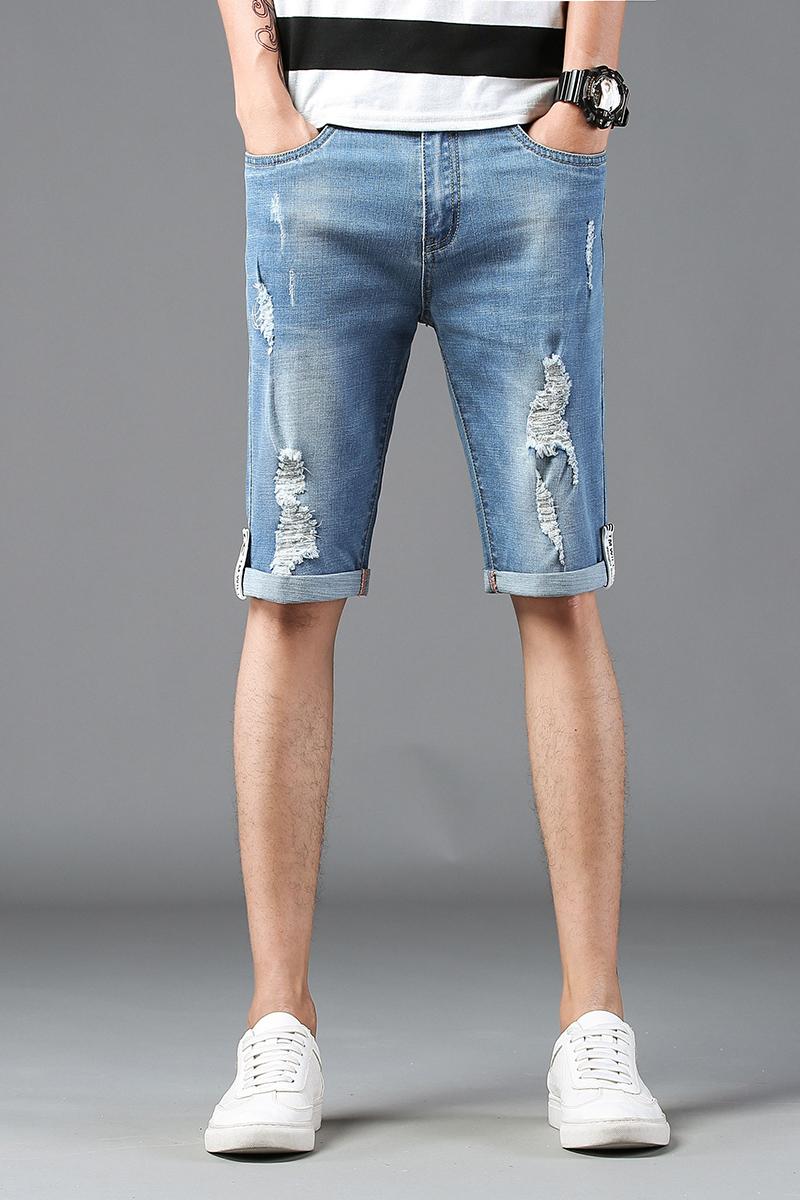2018新款潮流时尚男士牛仔裤 815#...