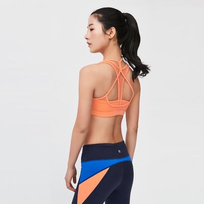 YOMANIGA 假两件拼色运动瑜伽跳舞半胸内衣 CWP0065