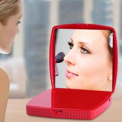 海荣 化妆盒 无线充电器 快充 带壳 镜子