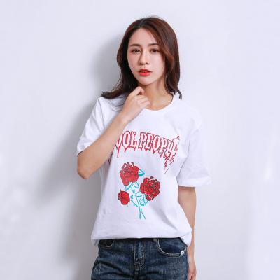 2018 春夏新款短袖t恤 T1001