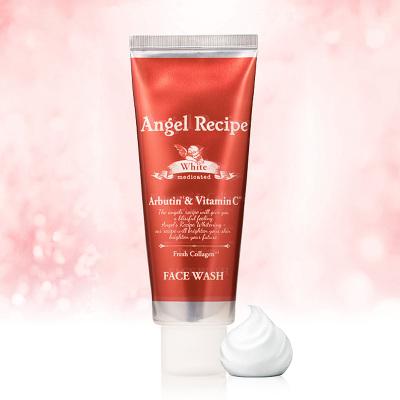 Angel Recipe日本进口天使嫩白水胶原洁面乳 90g