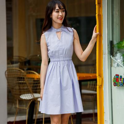 BLISS VALLY 挂脖清新蓬蓬连衣裙 SMX1114