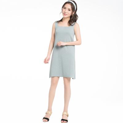 吊带连衣裙(Y&M18SSOP008)