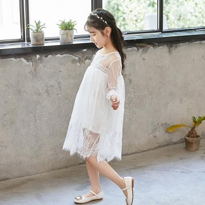 傲娃 2018新品时尚连衣裙夏装新款时尚韩版蕾丝连衣裙