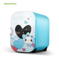 yeaspring奶瓶消毒器带烘干 多功能婴儿奶瓶消毒锅紫外线消毒柜22L GZJ-1000GW03粉蓝兔