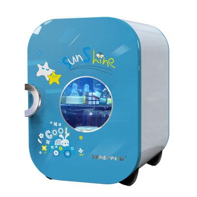 yeaspring宝宝奶瓶消毒器带烘干紫外线消毒柜婴儿消毒锅保洁柜22L J-1000粉蓝精灵