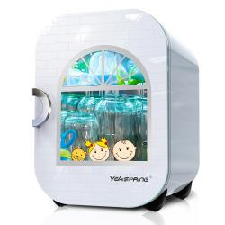 yeaspring奶瓶消毒器带烘干 多功能婴儿奶瓶消毒锅紫外线消毒柜22L J-1010G新活力