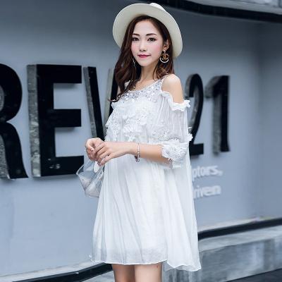 ZQY 丝光麻时尚连衣裙 (7038)