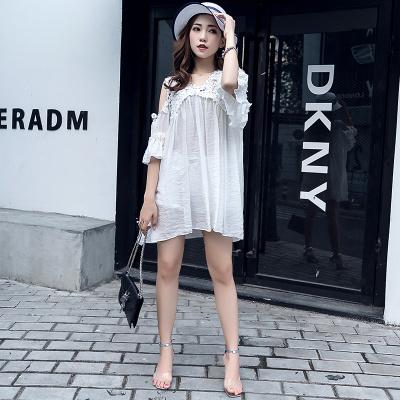 ZQY 丝光麻时尚连衣裙 (7013)