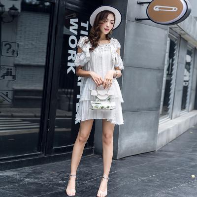 ZQ月 两件套丝光麻时尚上衣短裤 (7056)