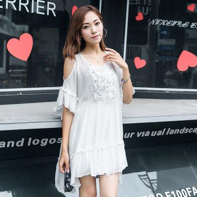 ZQY 丝光麻时尚连衣裙 (7067)