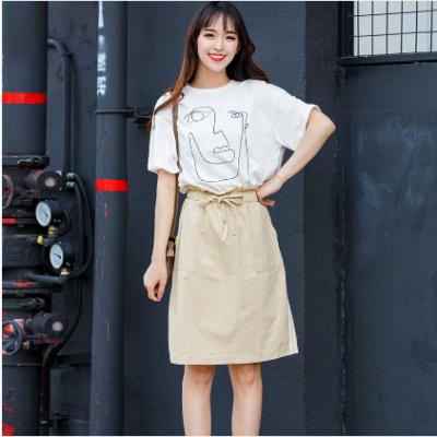 【秒杀】BLISS VALLY 抽象画套装裙 B280413T1L0