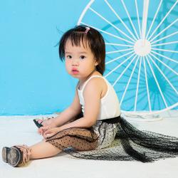米羊羊童装 网纱半身裙 K170117