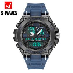 S•WAVES 银浪 男款手表 SW1058