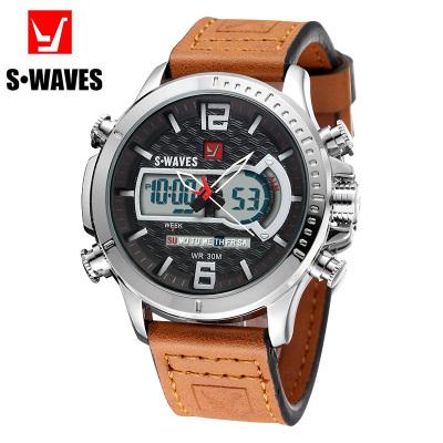 S•WAVES 银浪 男款手表 SW2072P