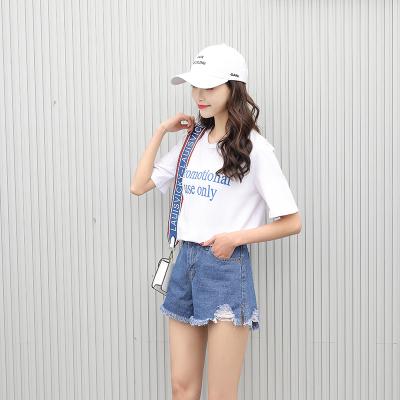 依赖 2018年夏季新品破洞毛边短裤休闲时尚舒适 051