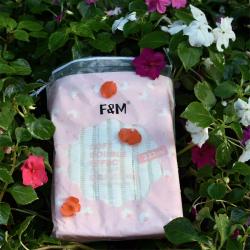 F&M化妆棉(222片装)轻柔双效卸妆棉上妆补水脸部洁面