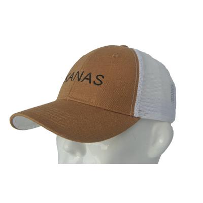 客纳斯 Kanas 麻棉+网料帽 K18008