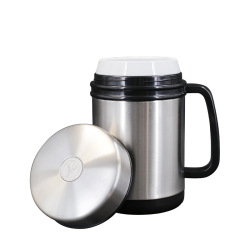 瓷胆磁化杯养生保健杯碱性水保温杯陶瓷内胆商务杯礼品